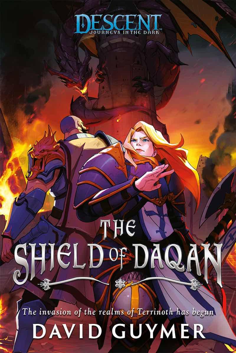 David Guymer The Shield Of Daqan Descent Journeys In The Dark