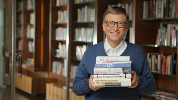 7 Books Bill Gates Thinks You Should Read in 2014 (1/6)