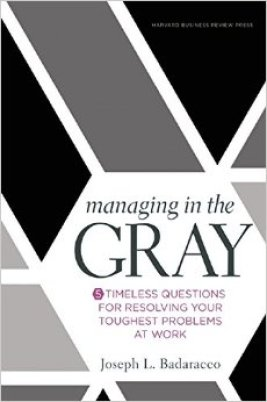 managing in the gray - paul sohn