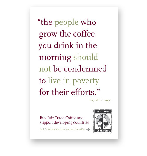 Fair Trade Coffee campaign Image 3
