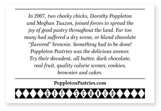 Poppleton Pastries Story
