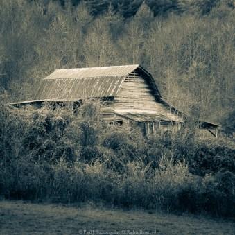 Barn in Brasstown NC