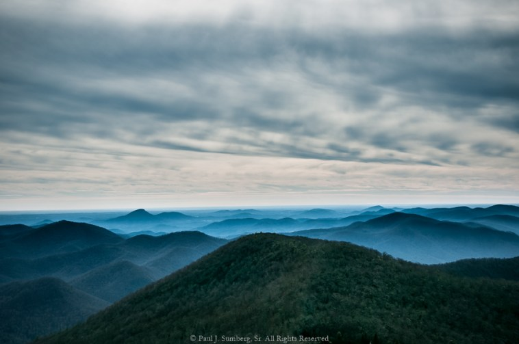 From the top of Brasstown Bald