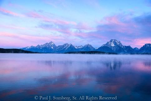 Jackson Lake at 0400