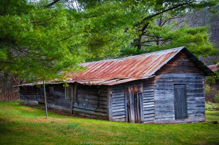 Old building in Young Harris Ga.