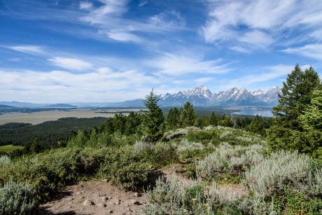 Jackson Hole from Signal MOuntain