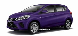 2018 Perodua Myvi 1.3 Standard G Mystical Purple