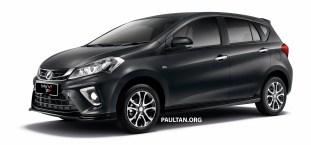 2018 Perodua Myvi 1.5 Advance Granite Grey