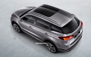 Proton X70 SUV 4 - Light Grey