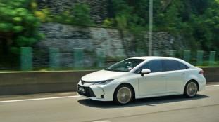 2019 toyota Corolla Media Drive 2