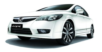 Photo 7_The Civic is one of the affected models of Takata front airbag inflator replacement