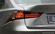 Lexus IS 250 Luxury and F Sport 24
