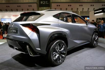 Lexus LF-NX Turbo Tokyo 11