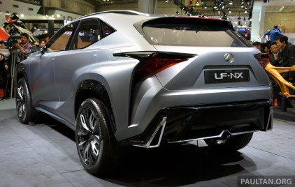 Lexus LF-NX Turbo Tokyo 3