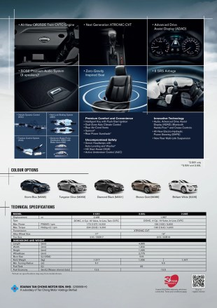 All-New Teana-Pre-Sales Leaflet_back