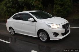 Driven_2014_ep6_Ford_Fiesta_EcoBoost_vs_Honda_Jazz_Hybrid_vs_Mitsubishi_Attrage_ 007