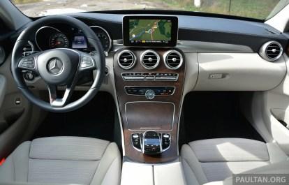 Mercedes W205 C-Class France 12