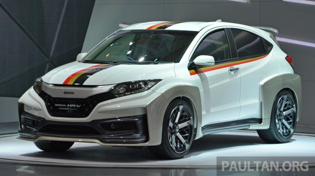 Berita Terkini New Post IIMS 2014 Honda HR V Mugen And