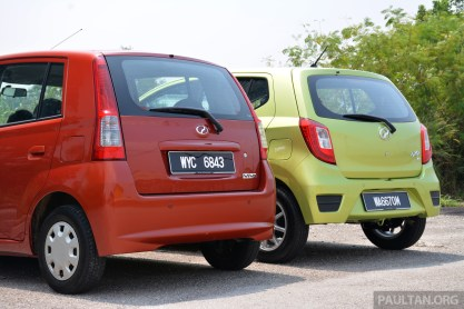 GALLERY: Perodua Axia vs Viva - a big leap forward?