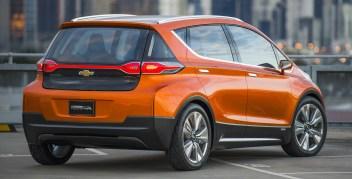 2015 Chevrolet Bolt EV Concept all electric vehicle – rear ext