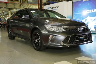 Toyota Camry Hybrid Line Off 29