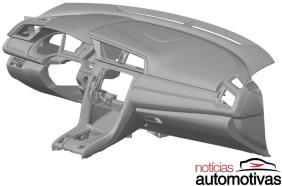 2016 Honda Civic dash patent-02