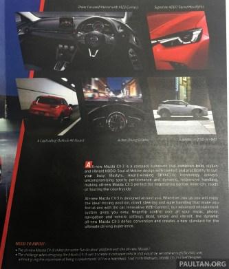 Mazda CX-3 MY newsletter 3