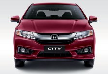 Honda City _Dark Ruby Red Pearl_Front