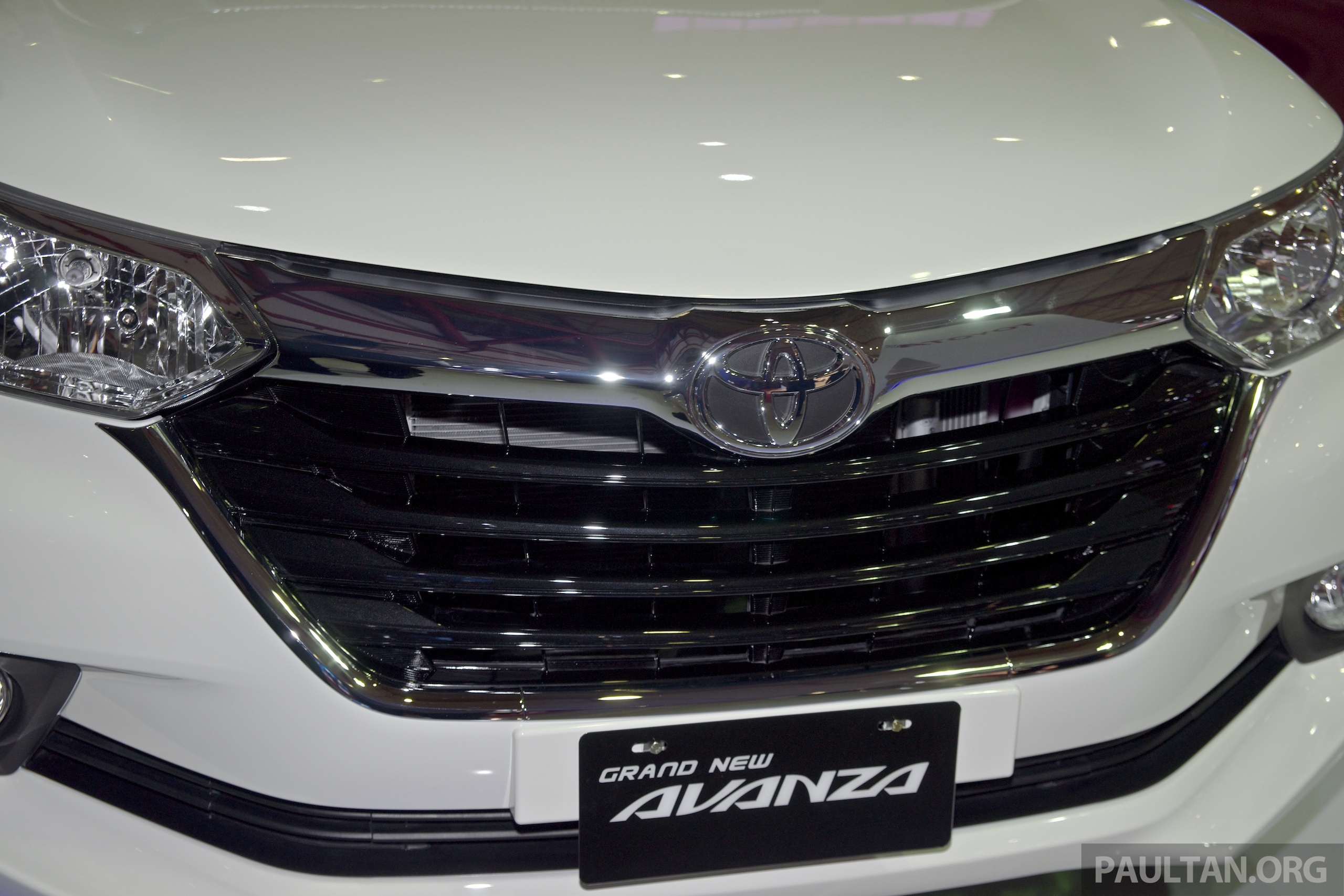 harga grand new veloz 1.3 2015 suspensi avanza keras iims toyota facelift from rm54k the on other hand takes a more vios esque aesthetic upper grille is slimmer here bumper real estate instead taken over by huge
