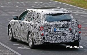 BMW 5 Series Touring Spy-08