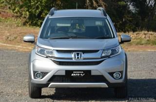 Honda BR-V drive Japan 2015-47