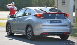 Honda 1.0 litre turbo civic 02
