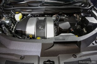 Lexus RX 350 F Sport Launch 15