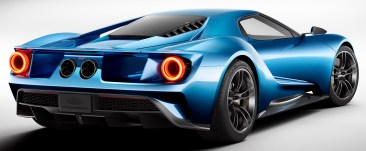All-New Ford GT L-R, 3/4 Front, January 2015