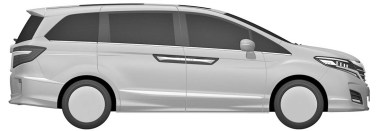 Honda Odyssey US-spec patents 6