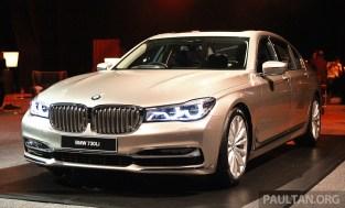 G11 BMW 730Li Launch 2