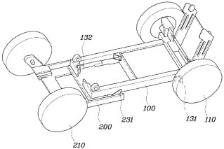 Hyundai foldable car patent-9