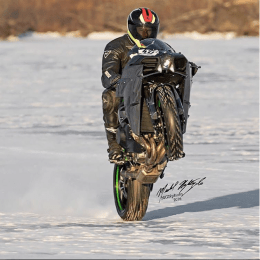 Ice Wheelie record 1