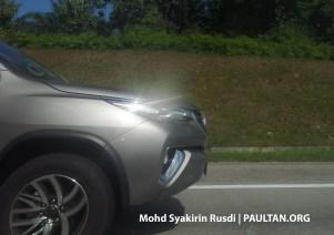 Toyota Fortuner Spyshots Tanjung Malim-01