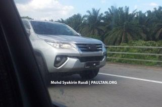 Toyota Fortuner Spyshots Tanjung Malim-02