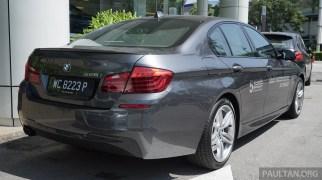 2016 F10 BMW 528i M Sport LCI Malaysia 002