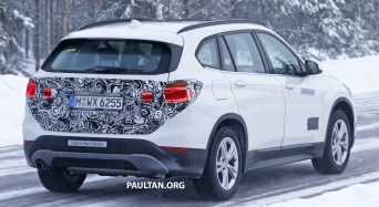 BMW X1 Plug-in Hybrid Spyshots-12