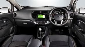 Kia Rio Sedan X Interior