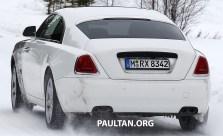 Rolls-Royce Wraith facelift spyshots-18