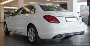 W205 Mercedes-Benz C180 Avantgarde Line Malaysia 075