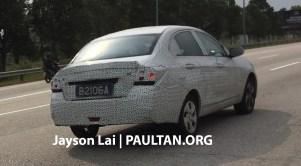 2016 Proton Saga prototype 4