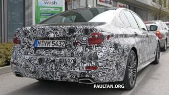 2017 G30 BMW 5 Series M Sport 7