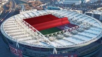 Citroen Arsenal stadium roof 3