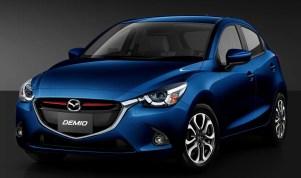 Mazda Demio 2 Deep Crystal Blue