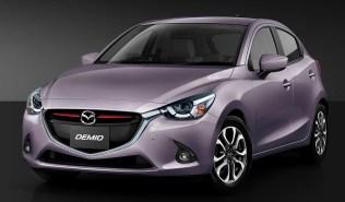 Mazda Demio 2 Smokey Rose Mica